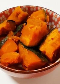レンジで時短!ホクホク☆かぼちゃの煮物