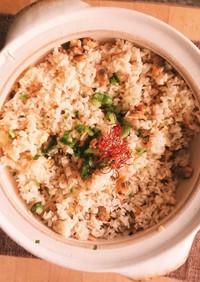 土鍋★あさり炊き込みご飯★無洗米で簡単