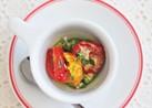 枝豆とセミドライトマトのイタリアン和え物