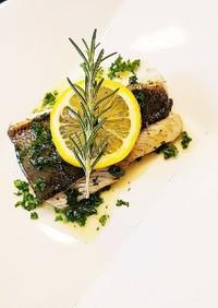 魚のムニエル❁レモンバターソース