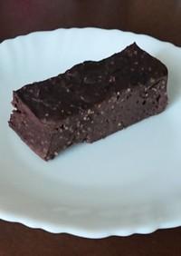 豆腐&米粉のチョコレートケーキ