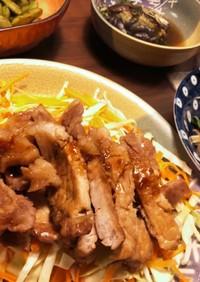 豚ロース赤味噌ソース〜献立いろいろ味噌〜