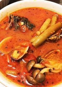 白身魚のトマトスープ☆チョッピーノ