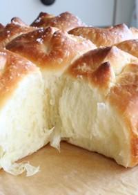 ホームベーカリー♡ブリオッシュちぎりパン