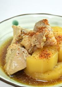 定番の煮物「鶏大根」