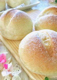 風味豊かなミルクパン・牛乳パン