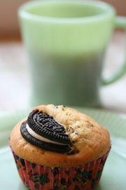 オレオ(クッキー&クリーム)マフィンの写真