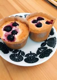 卵白消費〜誰でも簡単カップケーキ