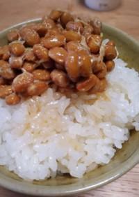 納豆のタレの新しい入れ方