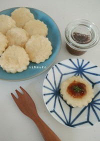 豆腐と白玉粉で*生麩風田楽