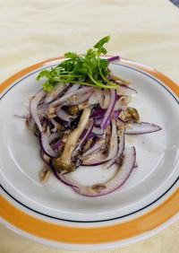 痩せる!鯖と野菜の簡単和え物