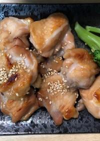 チキンの照り焼き(オーブン焼)