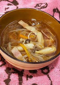 切り干し大根のデトックススープ