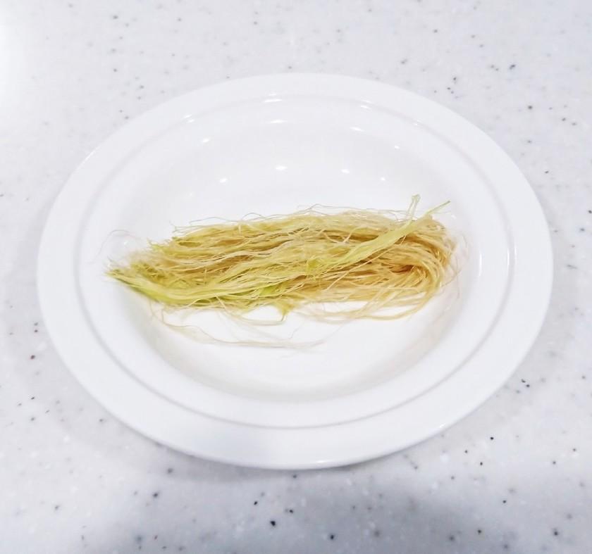 トウモロコシのヒゲ根の使い方☆