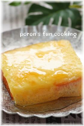 カステラde焼きチーズケーキ♪