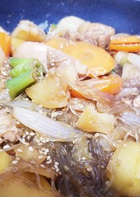 本場の味★チムタク(韓国の鶏の甘辛煮)