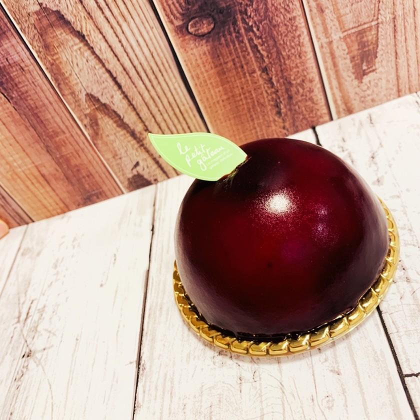 ブルーベリーのレアチーズドームケーキ