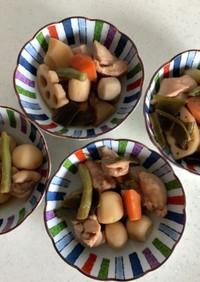 冷凍和風野菜の筑前煮