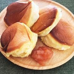 ふわふわパンケーキ HMとフライパンで!