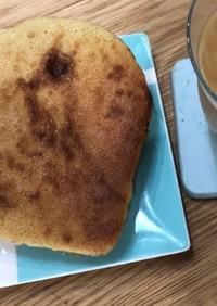 ハニーバターでメロンパン風トースト