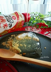 簡単おやつ☆本みりんで作る水信玄餅。