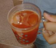 ごくごく飲める濃いトマトの写真