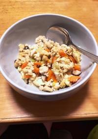 簡単おつまみ 炒り豆腐