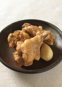 【つくおき】にんにくと鶏のさっぱり煮