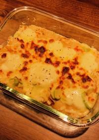おからパウダー使用!長芋と豆乳のグラタン