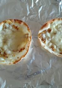 簡単、餃子の皮チーズマスタードチップス