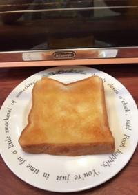 綺麗なバタトーストを作る方法