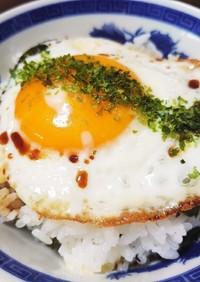 ✩超簡単!目玉焼きのせ3段のっけ丼✩