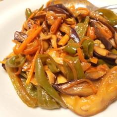 野菜のソースケチャップ炒め