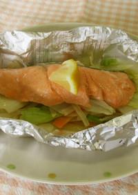カット野菜で♬鮭のホイル焼き☆