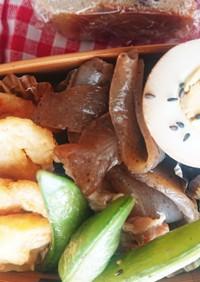 お弁当★少量豚肉とこんにゃく煮物★常備菜