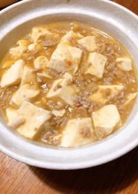 オイルオフのダイエット麻婆豆腐