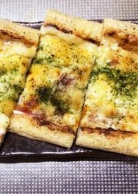 うすあげピザ第二弾 ベーコンマヨ
