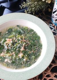 モロヘイヤと卵のスープ☆