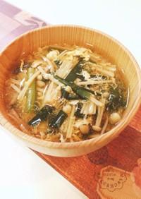 簡単!野菜ブイヨンの卵スープ #うちの