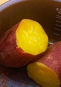 子どもが自分で作れる「炊飯器de蒸し芋」