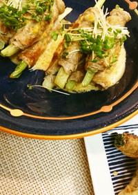小松菜豚巻き