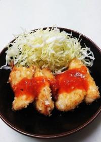 須藤家の簡単チーズチキンカツレツ