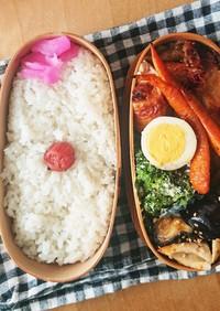 お弁当★オイスター辛旨鶏モモオーブン焼き