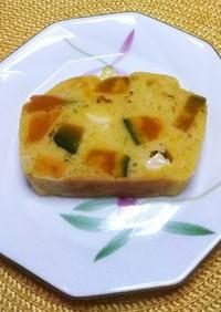 南瓜とチーズのケークサレ