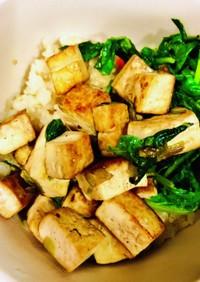 焼き豆腐 crispy tofu♡超簡単