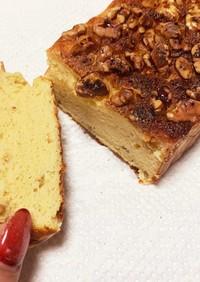 しっとり大豆粉のパウンドケーキ