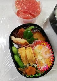 女子高生のお弁当(2学期の3日目)