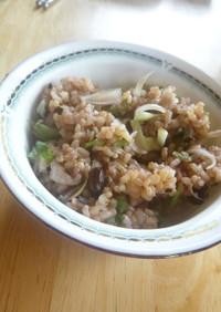 生姜・しそ・ミョウガの混ぜご飯
