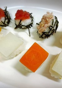 1歳のお祝いに!簡単すぎる赤ちゃん寿司