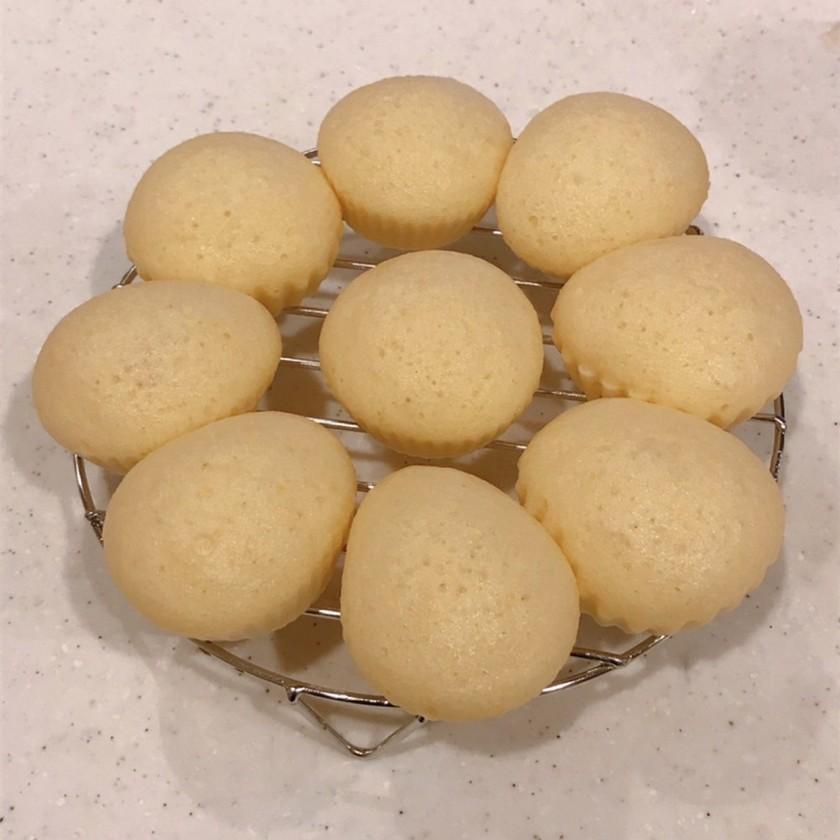 ジプロックで簡単、HMで生チョコ蒸しパン